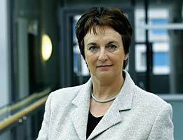 Bundesjustizministerin Brigitte Zypries
