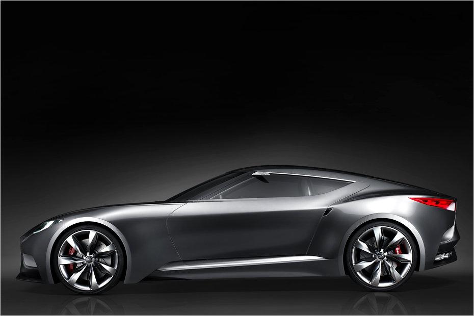 Hyundai Zeigt Sportwagen Studie Hnd 9 Mit 370 Ps Heise Autos