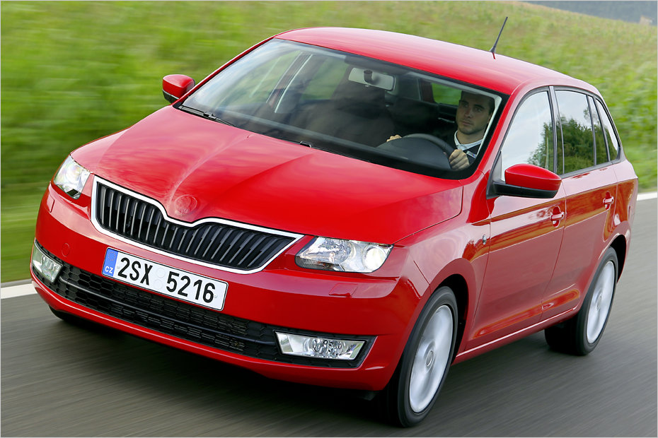 ausfahrt im neuen skoda rapid spaceback preis wert heise autos. Black Bedroom Furniture Sets. Home Design Ideas