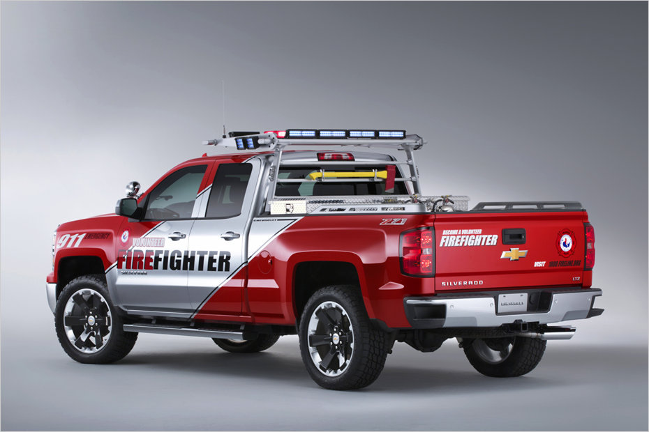 Chevrolet Silverado Helfershelfer F 252 R Katastrophenschutz