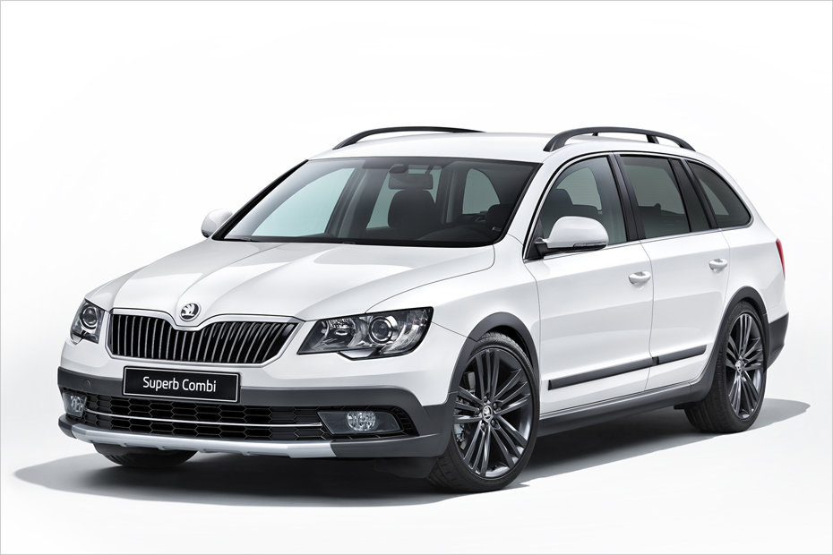skoda superb outdoor kombi im offroad look heise autos. Black Bedroom Furniture Sets. Home Design Ideas