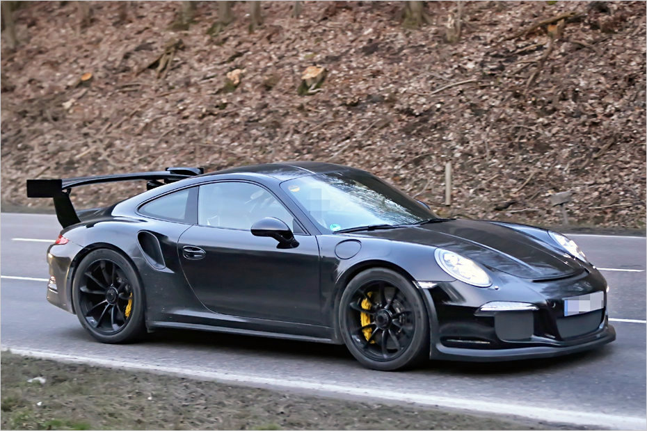 porsche 911 gt3 rs mit saugmotor und 500 ps auf erprobungsfahrt heise autos. Black Bedroom Furniture Sets. Home Design Ideas