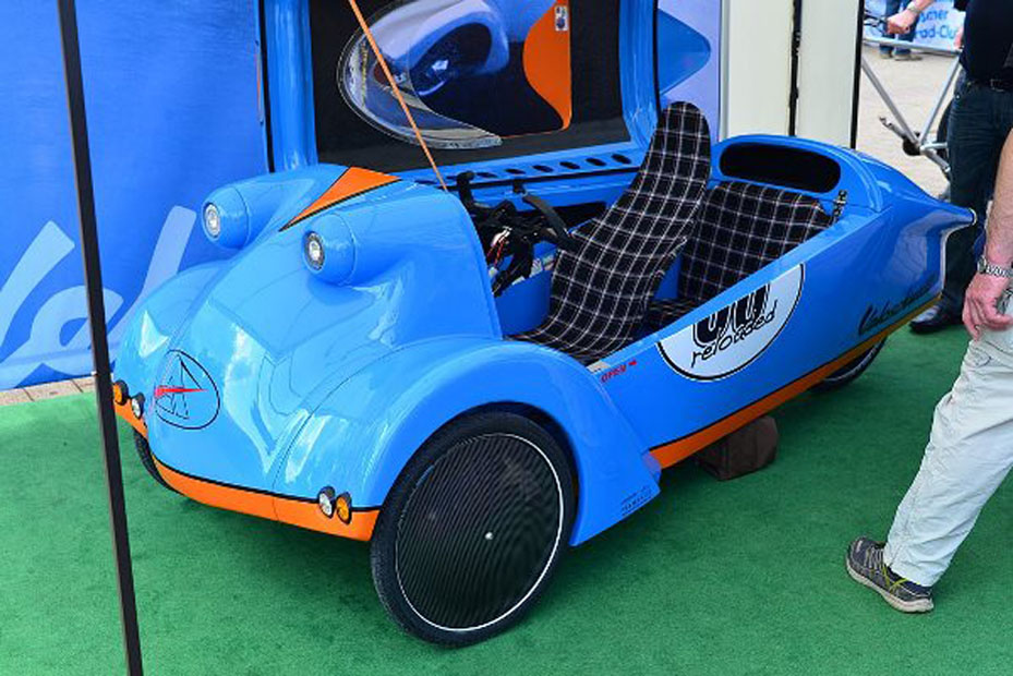 messerschmitt kabinenroller kehrt als velomobil zur ck heise autos. Black Bedroom Furniture Sets. Home Design Ideas