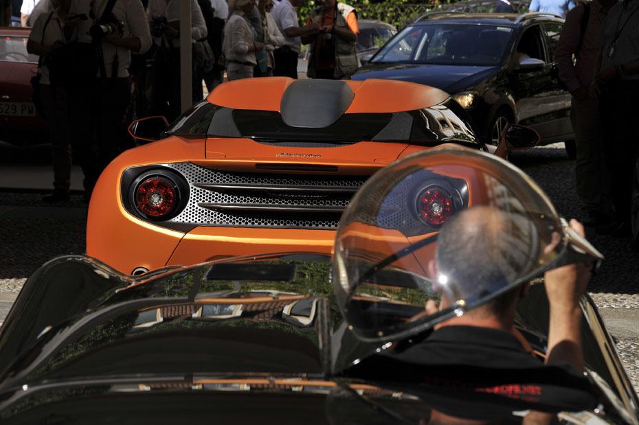 Lamborghini 595 Zagato Ein Unikat ohne Ecken und Kanten