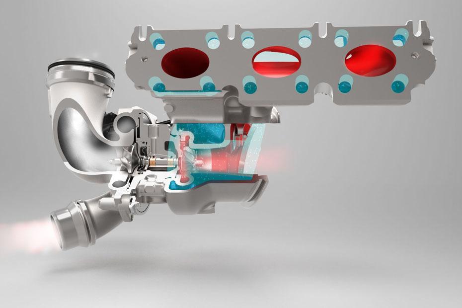 aufbau eines turboladers