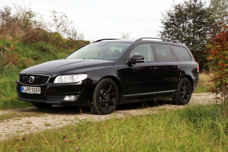 Fahrbericht Volvo V70 D4 Black Edition Schwarzbrenner