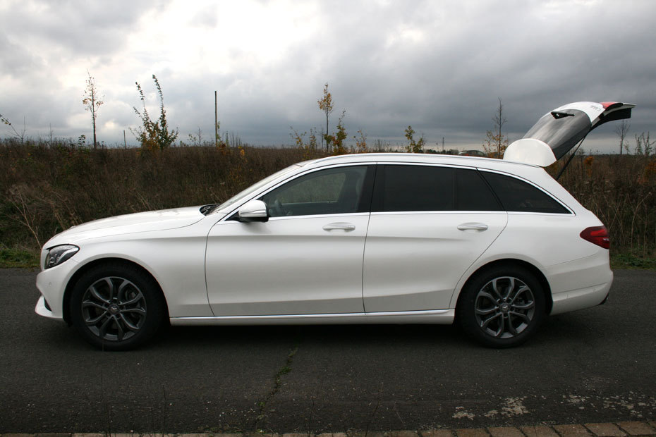 mercedes c300t bluetec hybrid im test der stauhelfer heise autos. Black Bedroom Furniture Sets. Home Design Ideas