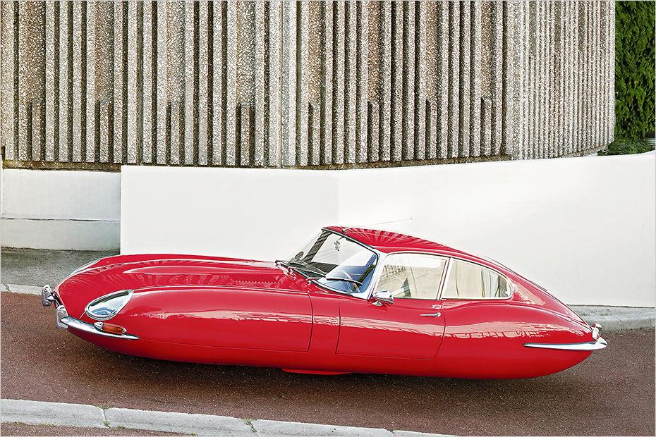 Futuristisch Schwebende Oldtimer Von Renaud Marion Heise Autos