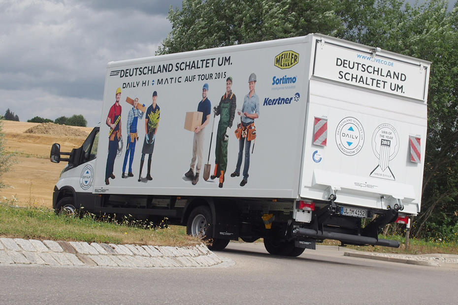 test iveco 205ps mit zf wandler