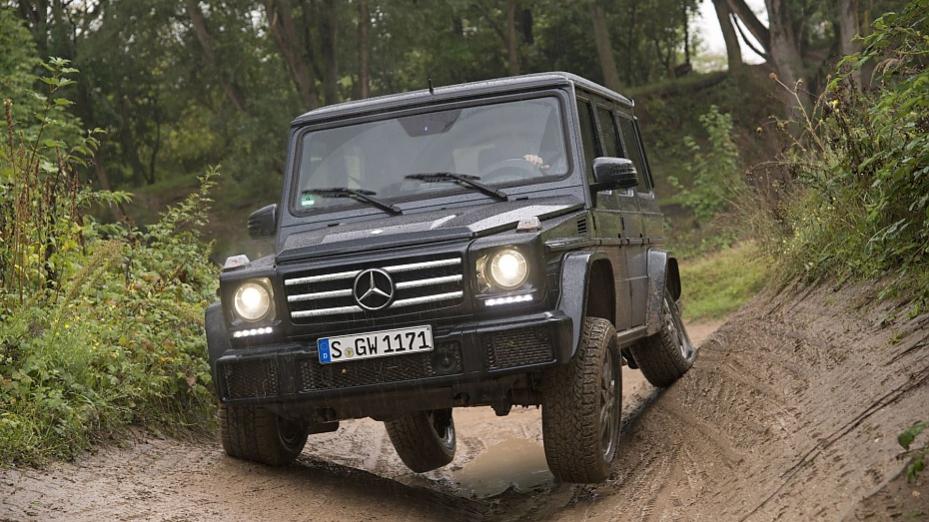 Fahrbericht aus dem modellgepflegten mercedes benz g 350 d for Mercedes benz g 350