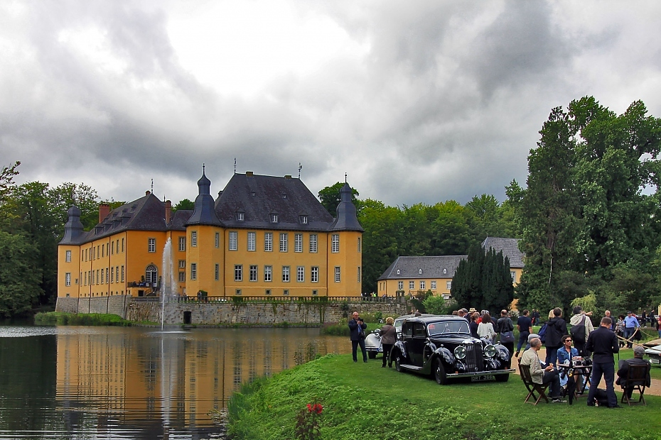 reportage classic days schloss dyck 2017 heise autos. Black Bedroom Furniture Sets. Home Design Ideas