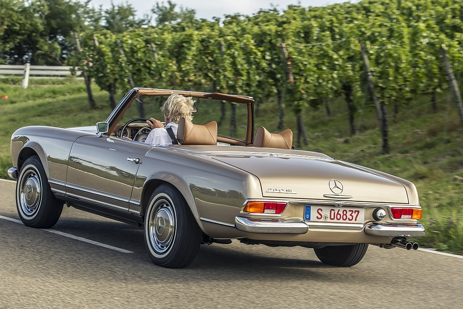 klassiker mercedes 280 sl pagode w 113 heise autos. Black Bedroom Furniture Sets. Home Design Ideas