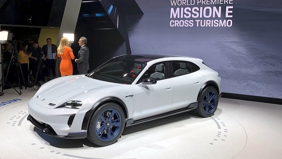 studie porsche mission e cross turismo heise autos. Black Bedroom Furniture Sets. Home Design Ideas