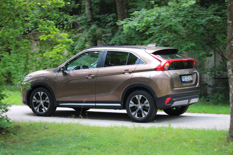 test: mitsubishi eclipse cross 1.5 t-mivec 4wd | heise autos