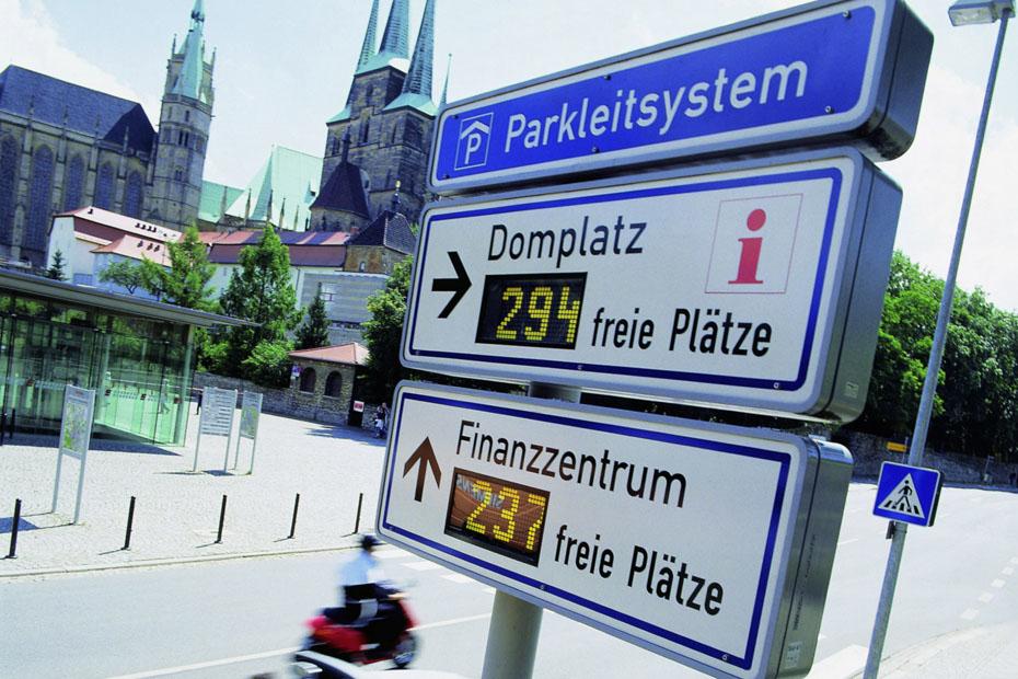Parkleitsystem Stuttgart