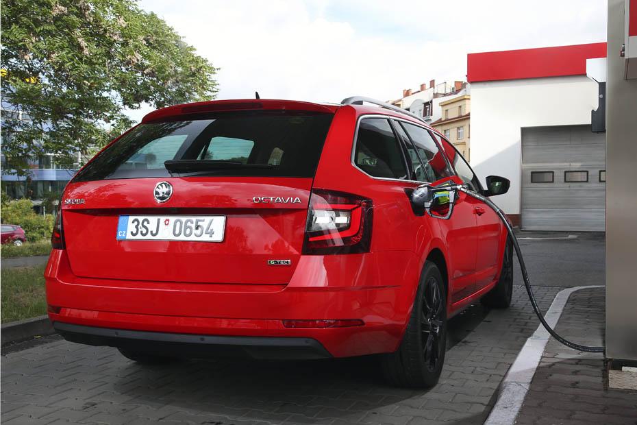 skoda octavia g-tec: mehr leistung und erdgas | heise autos