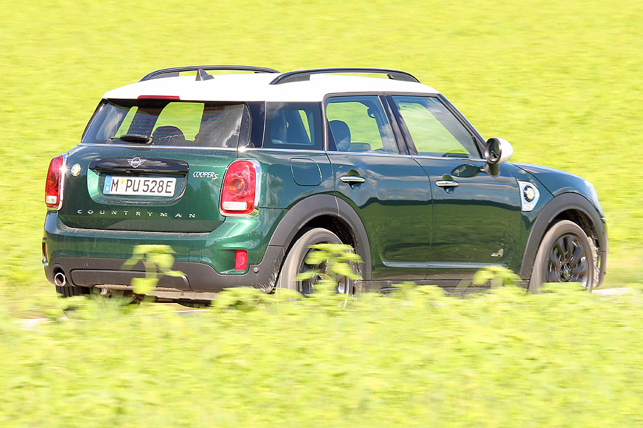 Test Mini Cooper Se Countryman All4 Heise Autos