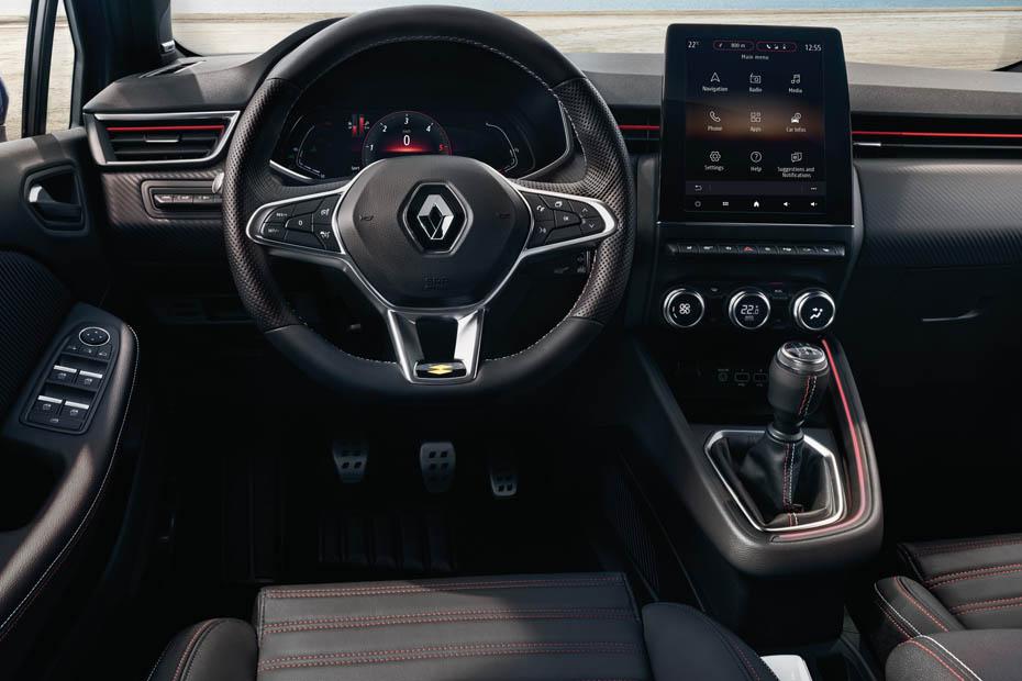 bild 1 20 autos vorstellung renault clio 2019 cockpit heise autos. Black Bedroom Furniture Sets. Home Design Ideas