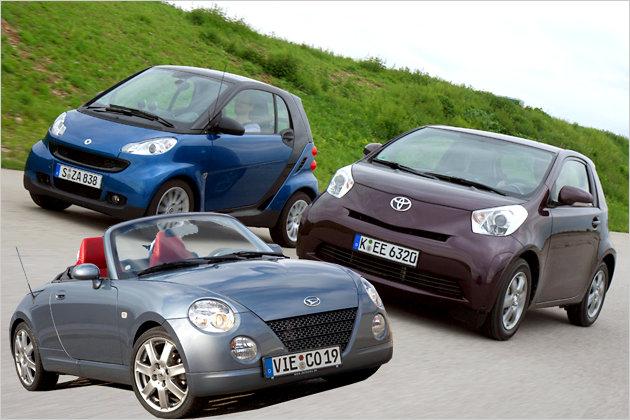 bild 1 16 autos navigation die k rzesten autos auf dem deutschen markt heise autos. Black Bedroom Furniture Sets. Home Design Ideas