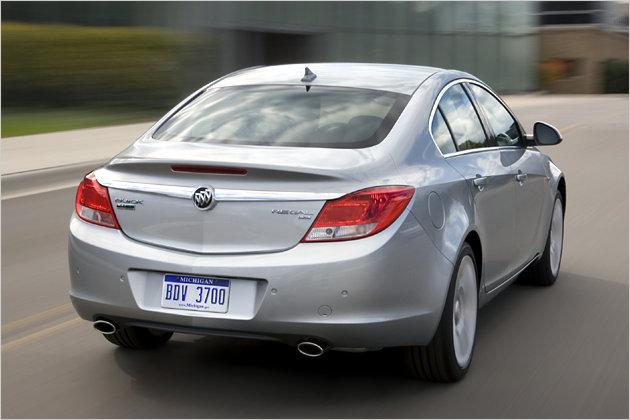 Buick Regal: Zwilling des Opel Insignia für die USA und China ...
