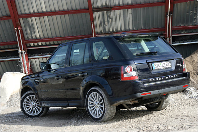 range rover sport 3 0 tdv6 so f hrt sich der neue basis diesel heise autos. Black Bedroom Furniture Sets. Home Design Ideas