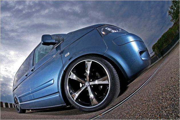 vw t5 luftfederung von mr car design heise autos. Black Bedroom Furniture Sets. Home Design Ideas