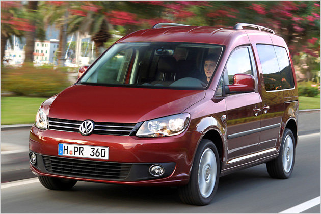 vw caddy facelift unterwegs im neuen 1 6 tdi mit 102 ps heise autos. Black Bedroom Furniture Sets. Home Design Ideas