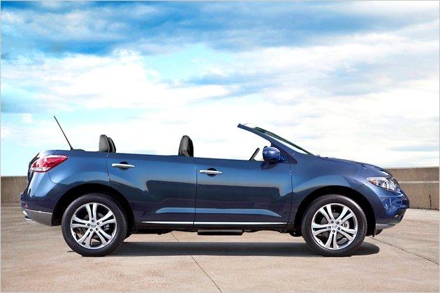 Suv ohne dach nissan murano crosscabriolet heise autos for Nissan juke cabrio