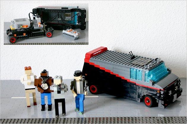alles nur gebaut filmautos aus lego heise autos. Black Bedroom Furniture Sets. Home Design Ideas