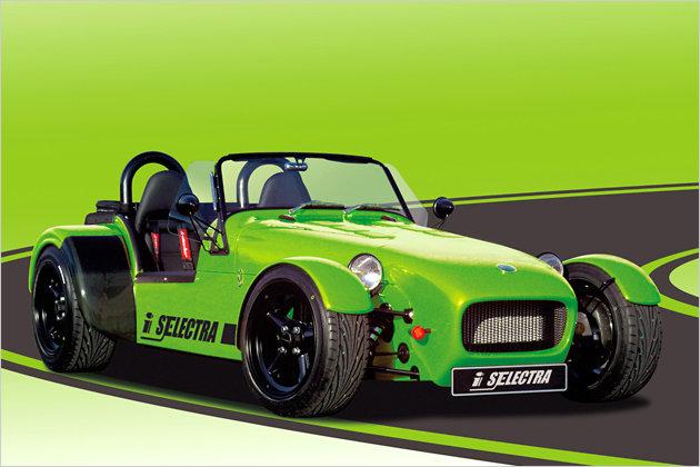 irmscher 7 selectra roadster mit elektroantrieb heise autos. Black Bedroom Furniture Sets. Home Design Ideas