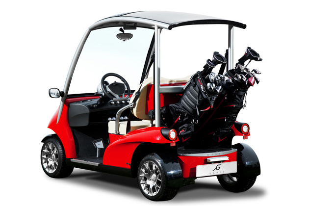 garia monaco elektrisches golf car mit stra enzulassung heise autos. Black Bedroom Furniture Sets. Home Design Ideas