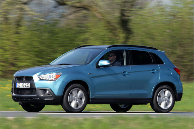 mitsubishi asx: unterwegs mit dem 1,6-liter-benziner | heise autos