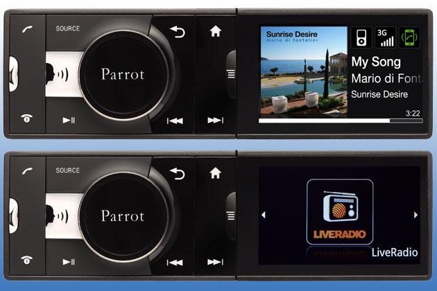 parrot asteroid freisprech autoradio mit android betriebssystem heise autos. Black Bedroom Furniture Sets. Home Design Ideas