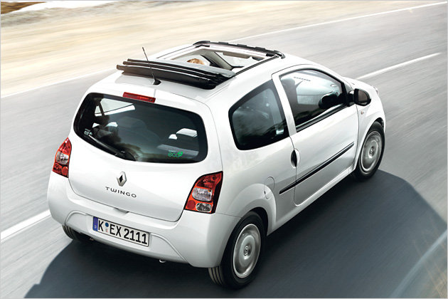 renault twingo mit faltschiebedach heise autos. Black Bedroom Furniture Sets. Home Design Ideas