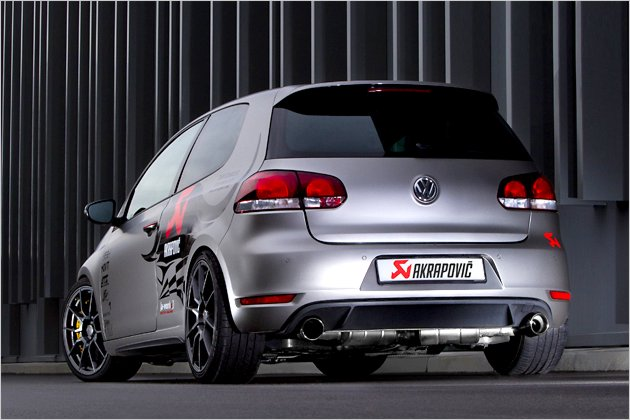 vw golf gti akrapovic edition mit 280 ps heise autos. Black Bedroom Furniture Sets. Home Design Ideas