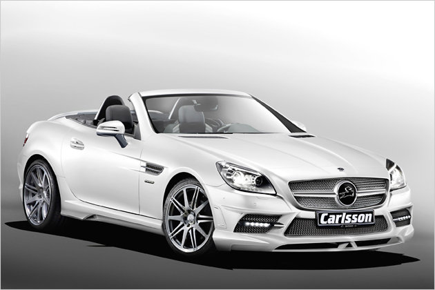 mercedes slk getunter roadster von carlsson heise autos. Black Bedroom Furniture Sets. Home Design Ideas
