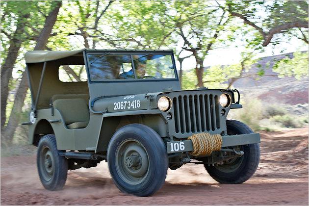 70 jahre jeep die entwicklung des originals heise autos. Black Bedroom Furniture Sets. Home Design Ideas