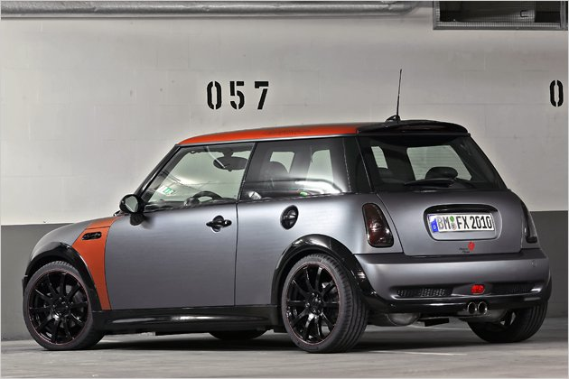 mini cooper s folierung mit metallic look vom tuner. Black Bedroom Furniture Sets. Home Design Ideas