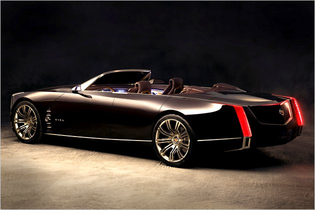 cadillac ciel cabrio studie mit hybridantrieb heise autos. Black Bedroom Furniture Sets. Home Design Ideas