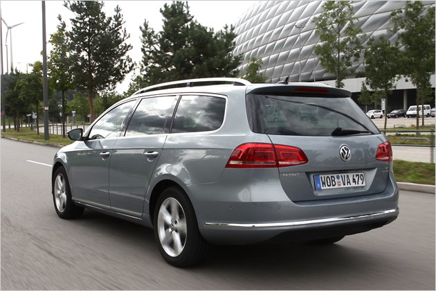 Ausfahrt im VW Passat Variant 1.4 TSI EcoFuel | heise Autos