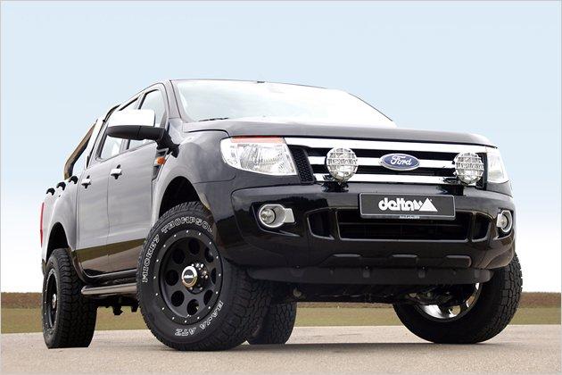 tuning ford ranger delta 4x4 mit hauseigenen felgen