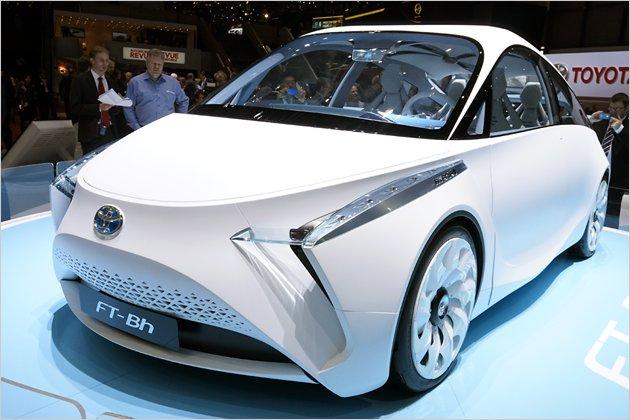toyota ft bh concept kleinwagen mit hybridantrieb heise. Black Bedroom Furniture Sets. Home Design Ideas