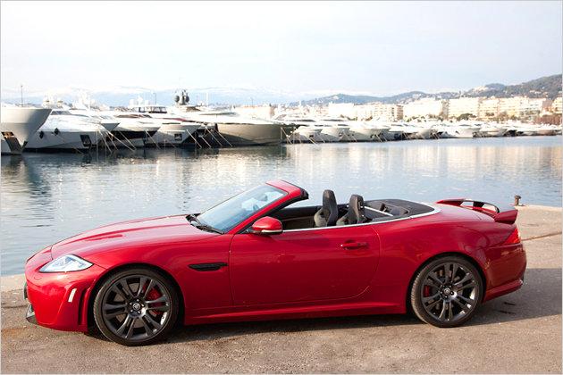 klangprobe im jaguar xkr s cabrio heise autos. Black Bedroom Furniture Sets. Home Design Ideas