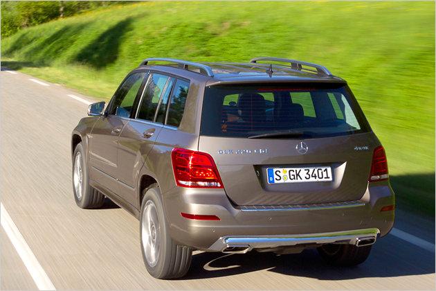 Unterwegs Im Mercedes Glk 250 Bluetec Heise Autos