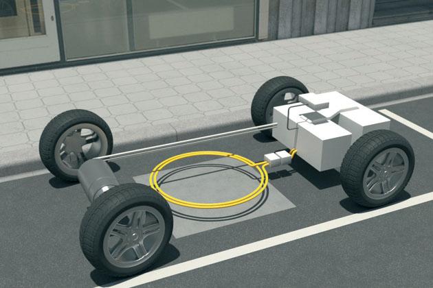induktives laden elektroautos