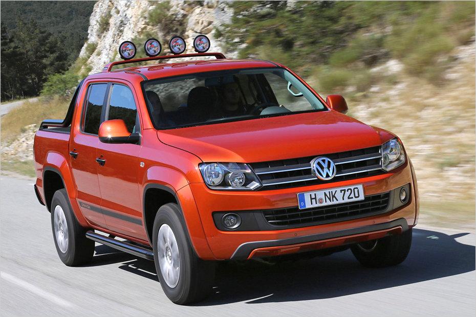 Pick-up Sondermodell VW Amarok Canyon | heise Autos