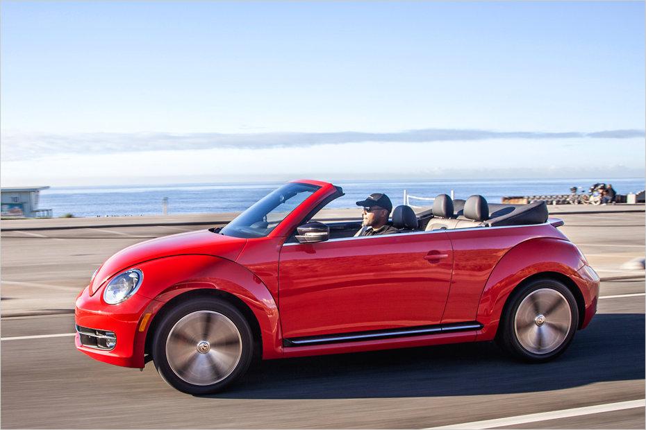 ein ausflug mit dem neuen vw beetle cabriolet heise autos. Black Bedroom Furniture Sets. Home Design Ideas