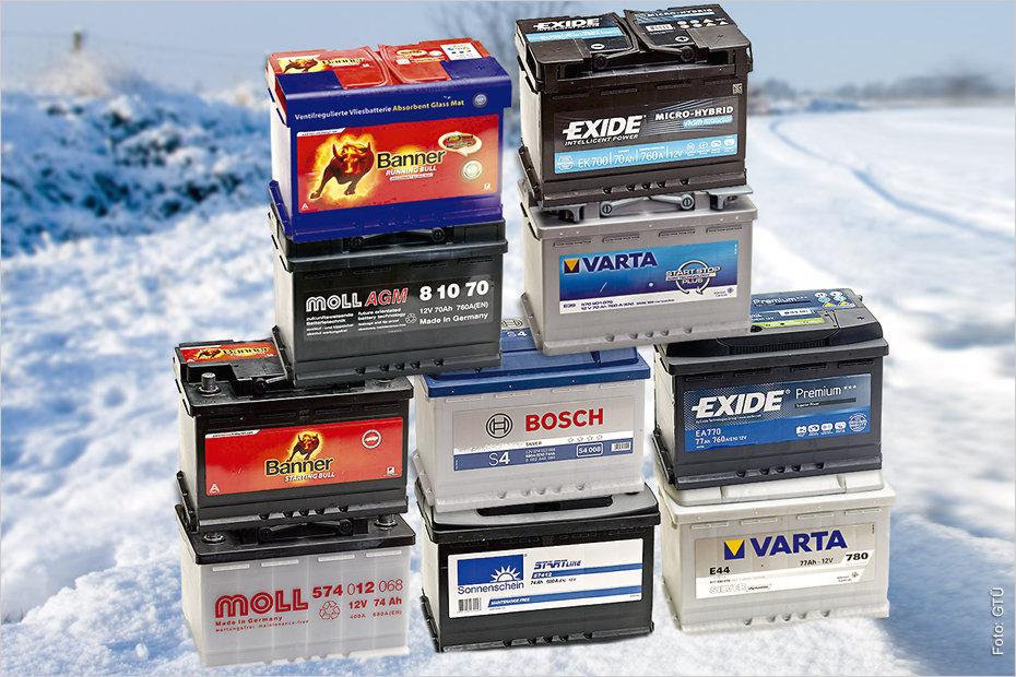 neue bosch agm batterien geladen
