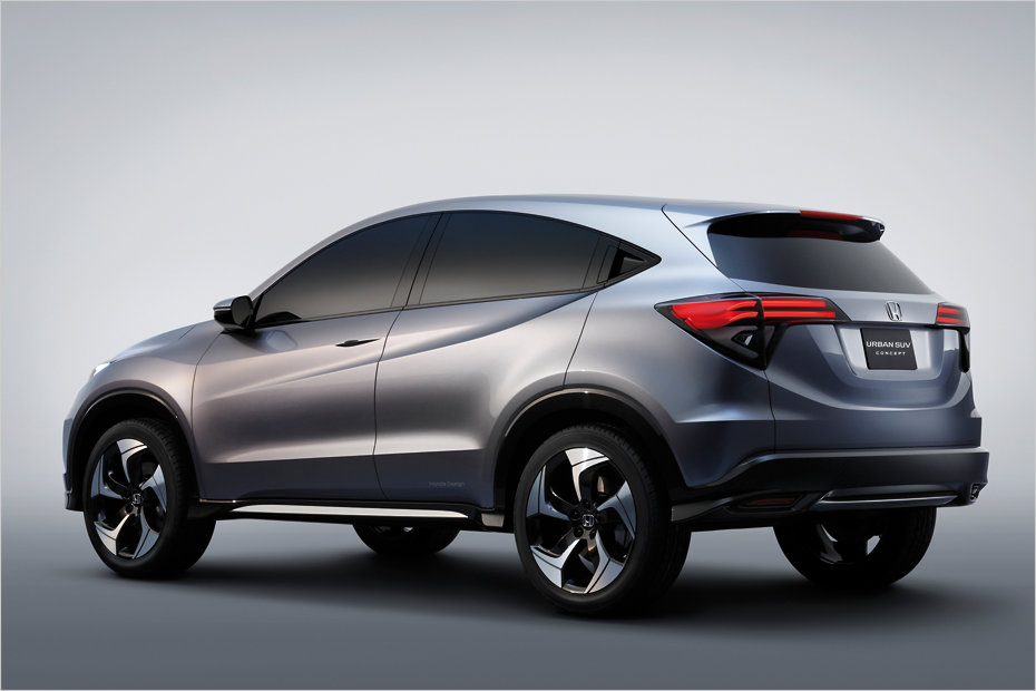 Crossoverle Honda Urban SUV Concept Heise Autos