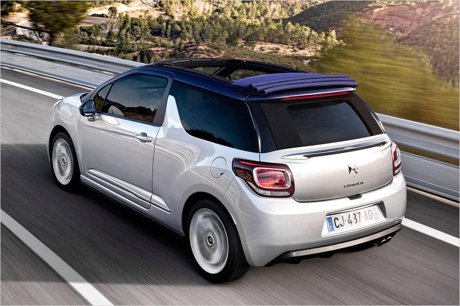 eine ausfahrt im neuen citro n ds3 cabrio heise autos. Black Bedroom Furniture Sets. Home Design Ideas